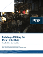 Building a Military for the 21st Century