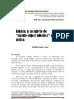 LUKÁCS_A_CATEGORIA_DE_SUJEITO_E_OBJETO_IDÊNTICO