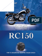 Manual Moto RC150