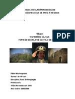 Área de Integração - Cultura Militar