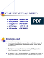 Case - Study Clarient (India) Limited