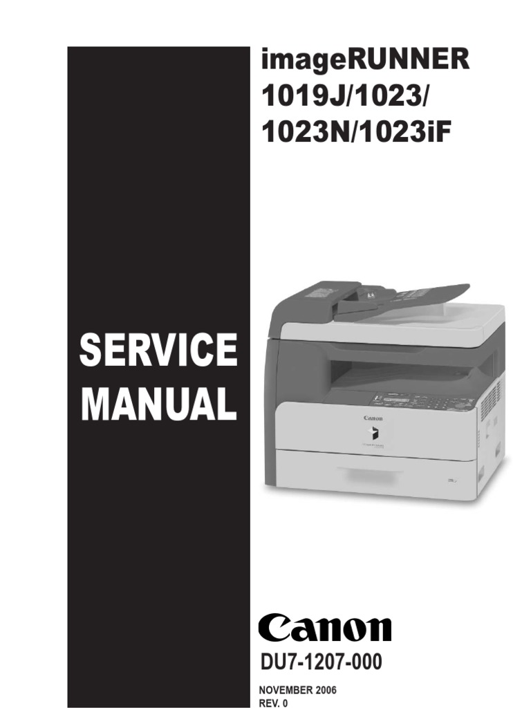 canon ir 1019j 1023 1023n 1023if service manual ing image rh scribd com canon 1023if user manual canon imagerunner 1023if user manual