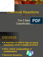 Chemical Rxn Types