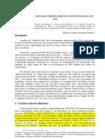 Gustavo Liberato - A Capital do País sob o Ordenamento Constitucional de 1946