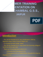 Presentation on 132 Kv Chambal g.s.s., Jaipur