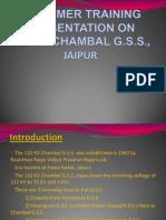 Presentation on 132 Kv Chambal g.s.s., Jaipur