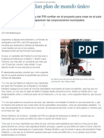 08-04-12 Candidatos avalan plan de mando único - Metromilenio