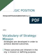 1A2 Vocabulary of Strategy