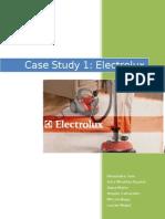 Written Report - Electrolux