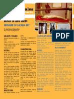 Museo de Arte Sacro en Haría (Lanzarote) - Rincones Culturales Abril 2012