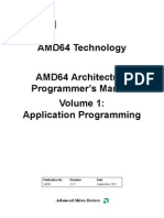 AMD64 Architecture Programmers Manual