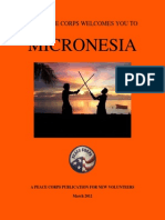 Peace Corps Micronesia Welcome Book     March 2012