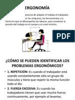 ERGONOMÍA Y CONDICIONES DE TRABAJO