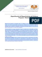 Especificacion de Requerimientos Del Software Guia