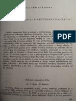 Vladimir Mošin i Milan Radeka - Ćirilski rukopisi u sjevernoj Dalmaciji