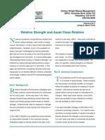White Paper - Asset Class Rotation