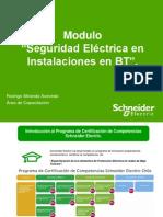 Presentacion Modulo Seguridad Eléctrica en Instalaciones en BT