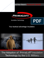 PrimaLoft Military Workshop