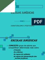 ESCOLAS JURÍDICAS