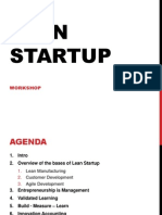 Lean Start Up Workshop
