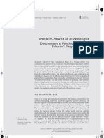 The Film‐maker as Ruckenfigur