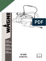 W650 Manual