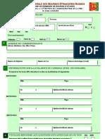 Formulaire de Candidature Aux Bourses d Etudes Suisses