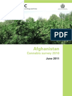Afghanistan Cannabis Survey Report 2010 Smallwcover