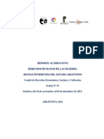 Informe Final Sombra Pidesc - Argentina 2011