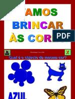 Brincar às cores
