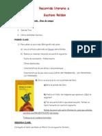 Recorrido Literario a Gustavo Roldan