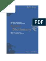 Fjalori Ekonomik Shqip-Anglisht
