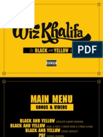 Digital Booklet - Black and Yellow (Deluxe Single)