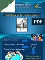 Clase toxicolog+¡a de los contaminantes