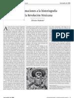 Aproximaciones a la historiografia de la revolución Mexicana