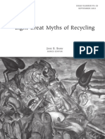 Eight Great Myths of Recycling