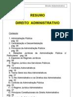 Resumo Direito Administrativo