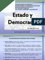 Estado y Democracia