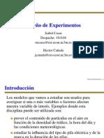 Diseño de experimentos en ppt pdf