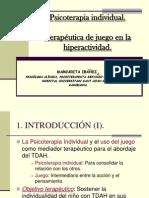 Psicoterapia Individual Terapeutica de Juego en La Hiperactividad
