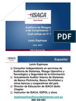 Isaca Auditora de Riesgos de It v2