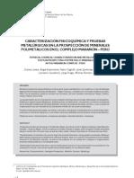 Caracterizacion y Pruebas Metalurgicas (1)
