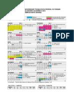 Calendário UTFPR