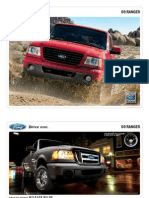 2009 Ford Ranger Brochure from Miller Ford