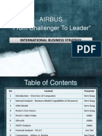 Airbus - From Challenger to Leader Case Study