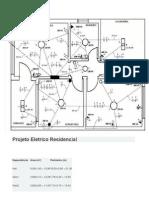 Projeto Eletrico Residencial