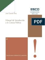 Manual de Introduccion a La Ciencia Politica por D. José Cazorla Pérez.
