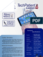 TechPatient CARDIO V3 Brochure