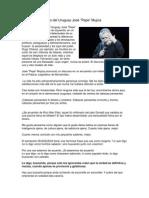 Discurso de Jose Mujica. Pdt. Uy.