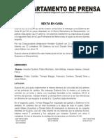 Nota de Prensa Guaros-gaiteros Juego # 2 Bqto 08-04-2012